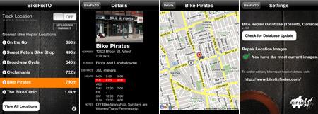 bikefixto screenshots
