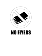 no flyer sign print it out to stop junk mail